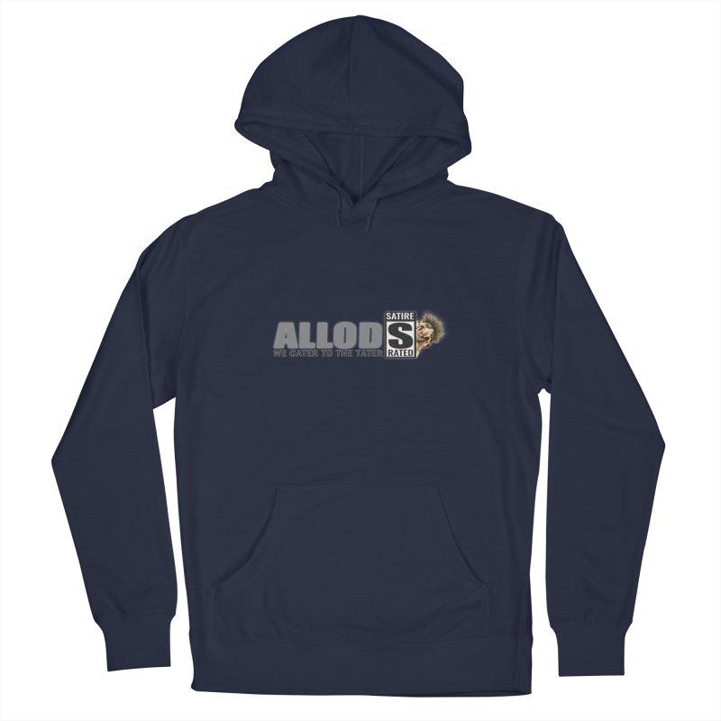 ALLOD Logo Dark Cater Men's Pullover Hoody by America's Last Line of Defense