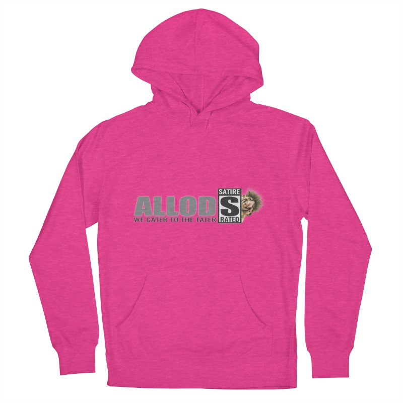 ALLOD Logo Dark Cater Women's French Terry Pullover Hoody by America's Last Line of Defense