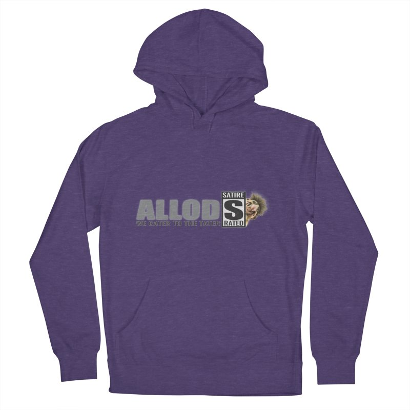 ALLOD Logo Dark Cater Men's French Terry Pullover Hoody by America's Last Line of Defense