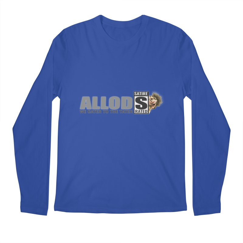 ALLOD Logo Dark Cater Men's Regular Longsleeve T-Shirt by America's Last Line of Defense