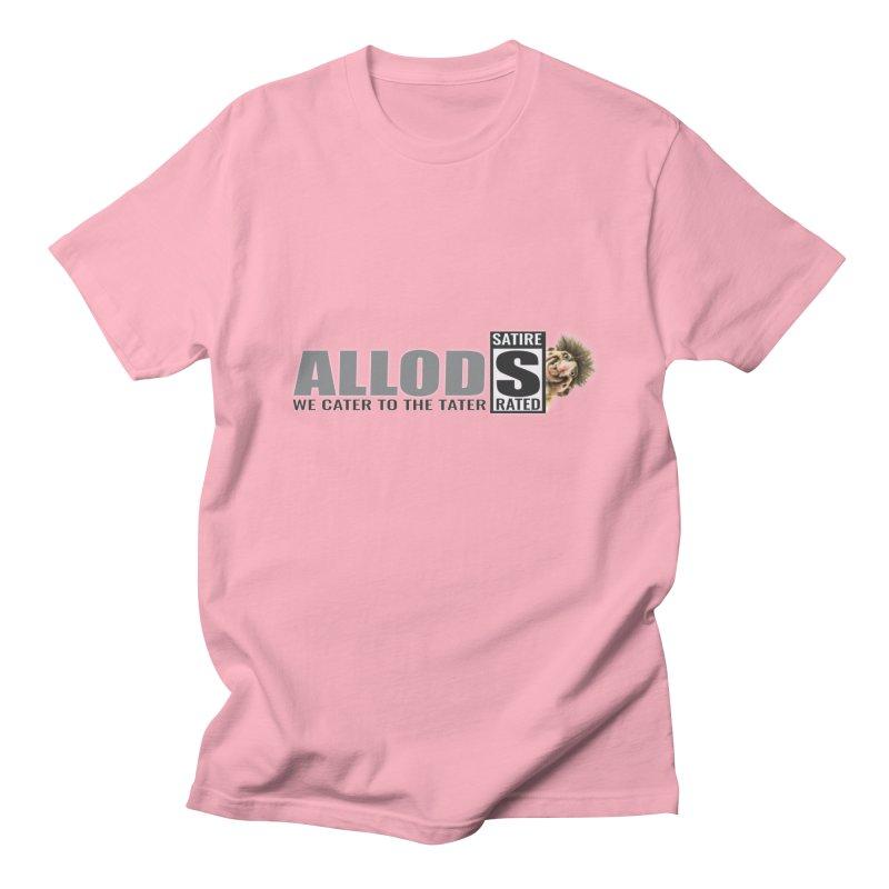 ALLOD Logo Dark Cater Women's Regular Unisex T-Shirt by America's Last Line of Defense