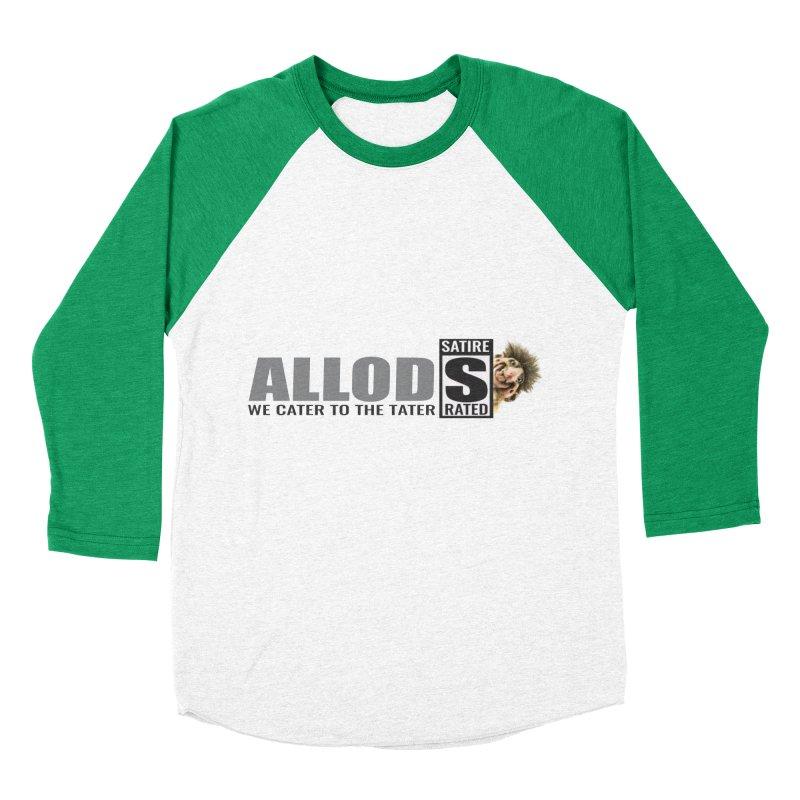 ALLOD Logo Dark Cater Women's Baseball Triblend Longsleeve T-Shirt by America's Last Line of Defense