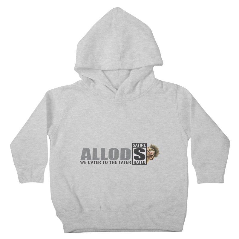 ALLOD Logo Dark Cater Kids Toddler Pullover Hoody by America's Last Line of Defense
