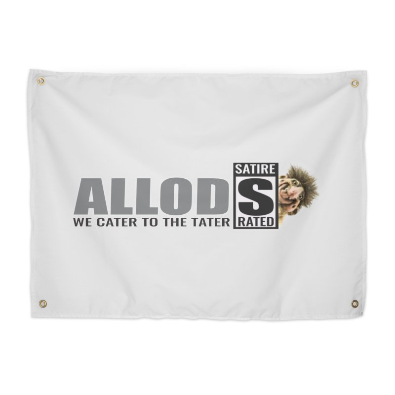 ALLOD Logo Dark Cater Home Tapestry by America's Last Line of Defense