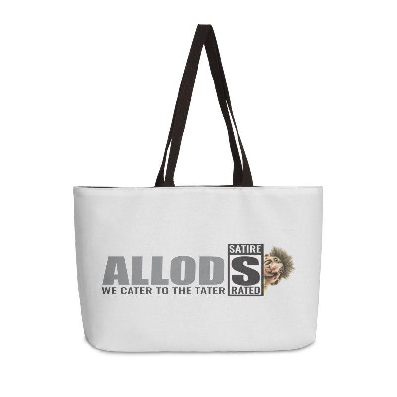 ALLOD Logo Dark Cater Accessories Weekender Bag Bag by America's Last Line of Defense