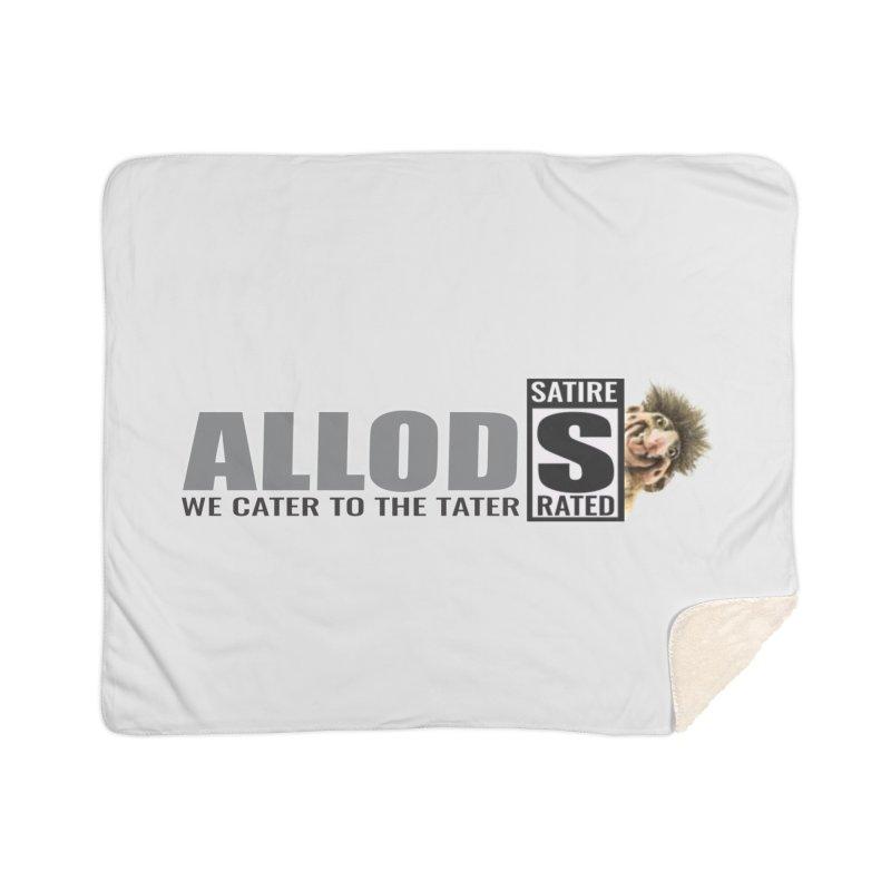 ALLOD Logo Dark Cater Home Blanket by America's Last Line of Defense