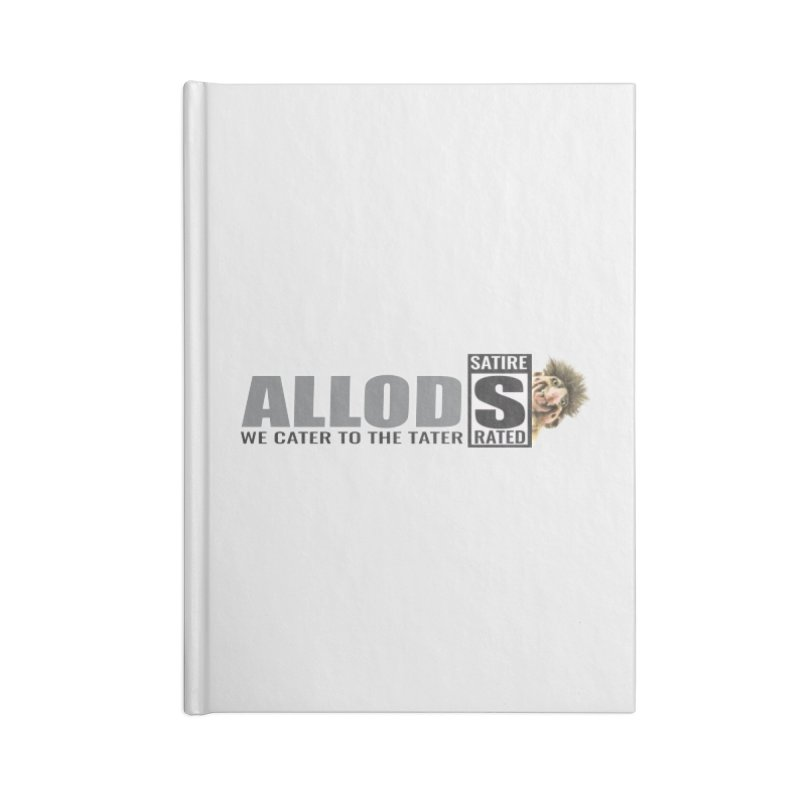 ALLOD Logo Dark Cater Accessories Blank Journal Notebook by America's Last Line of Defense