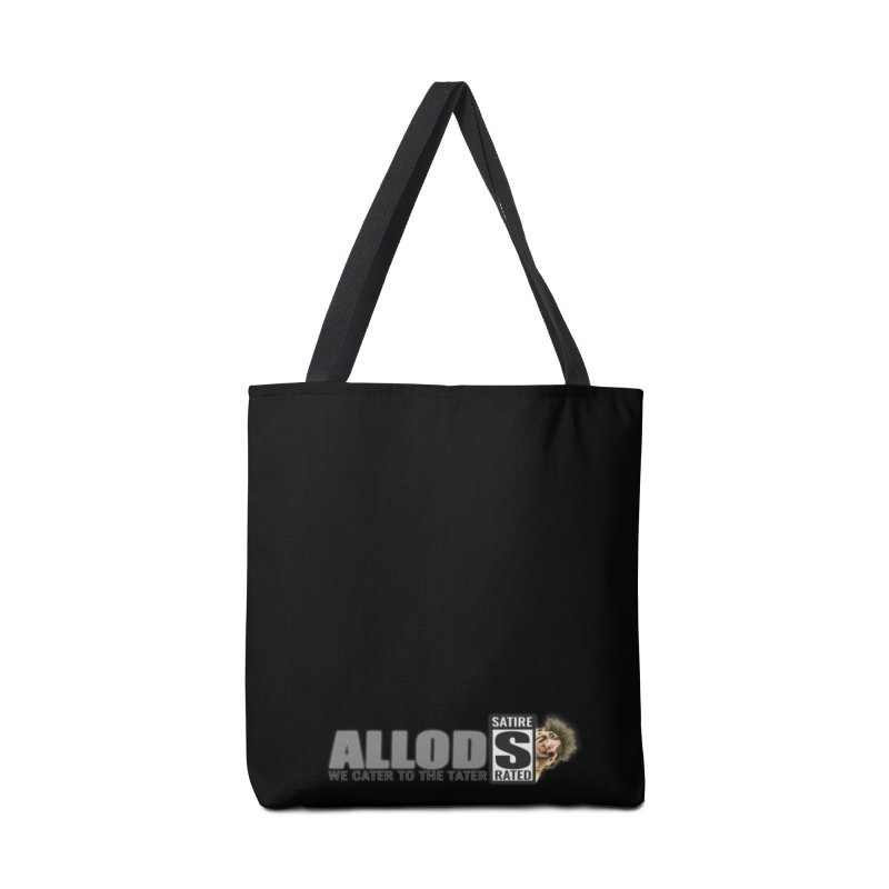 ALLOD Logo Dark Cater Accessories Tote Bag Bag by America's Last Line of Defense
