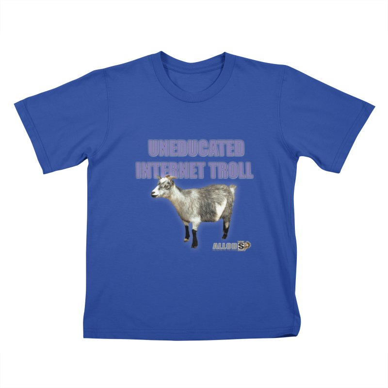 Uneducated Internet Troll Kids T-Shirt by America's Last Line of Defense