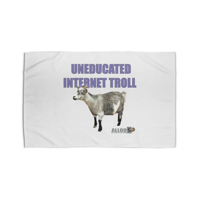Uneducated Internet Troll Home Rug by America's Last Line of Defense