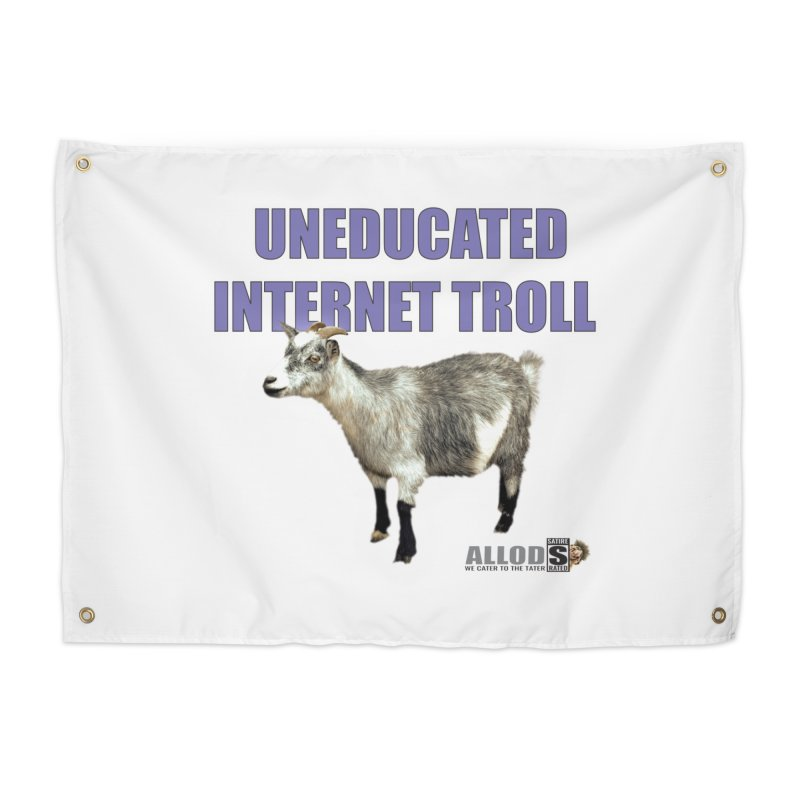 Uneducated Internet Troll Home Tapestry by America's Last Line of Defense