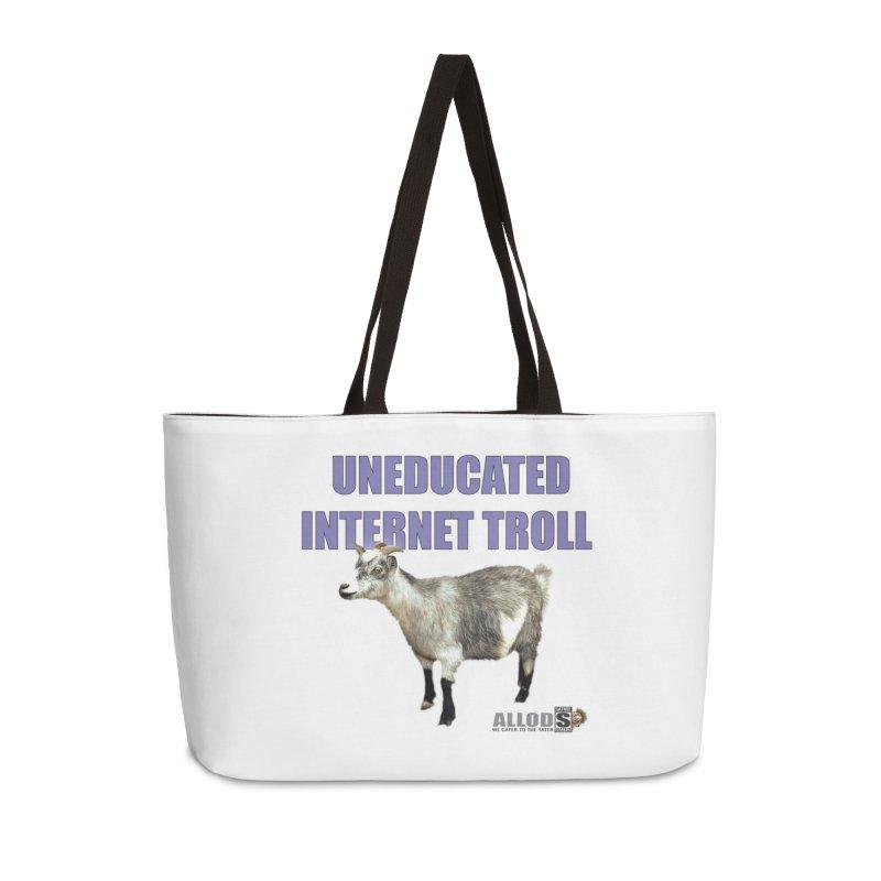 Uneducated Internet Troll Accessories Weekender Bag Bag by America's Last Line of Defense