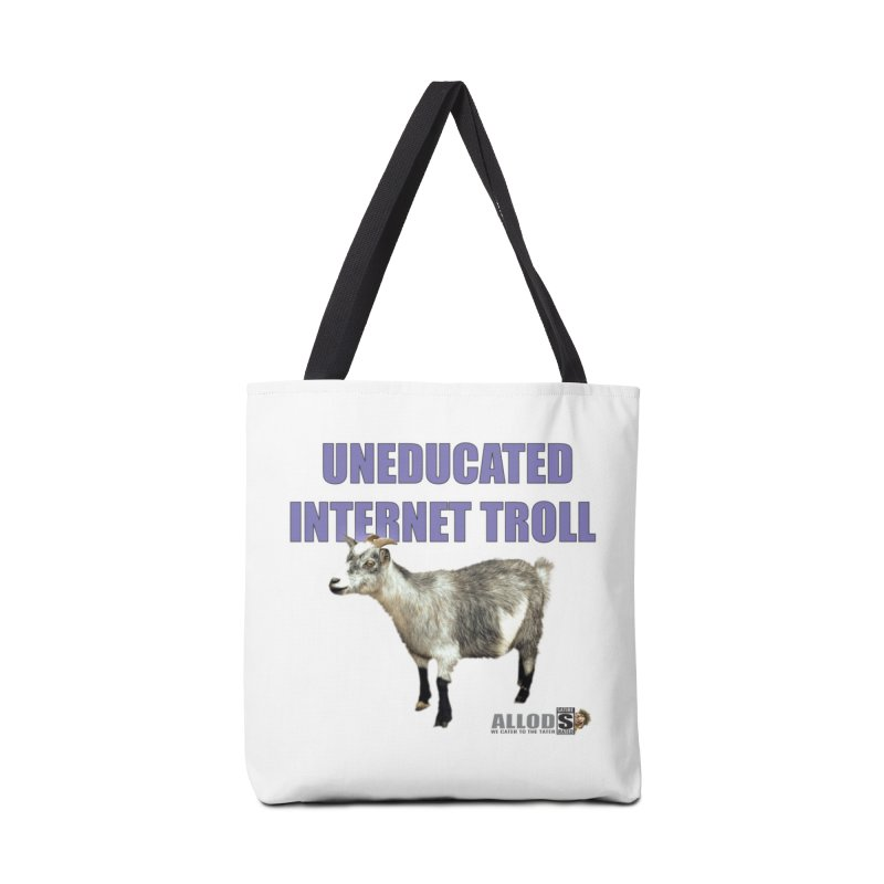 Uneducated Internet Troll Accessories Tote Bag Bag by America's Last Line of Defense