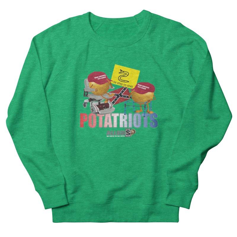 POTATRIOT SALUTE! Women's Sweatshirt by America's Last Line of Defense