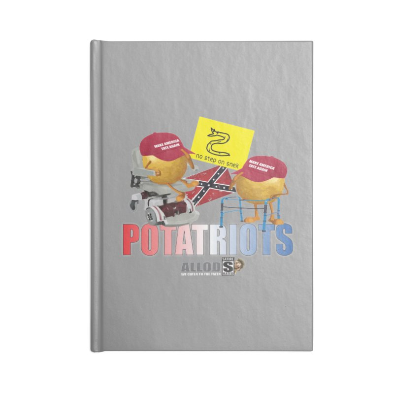 POTATRIOT SALUTE! Accessories Blank Journal Notebook by America's Last Line of Defense