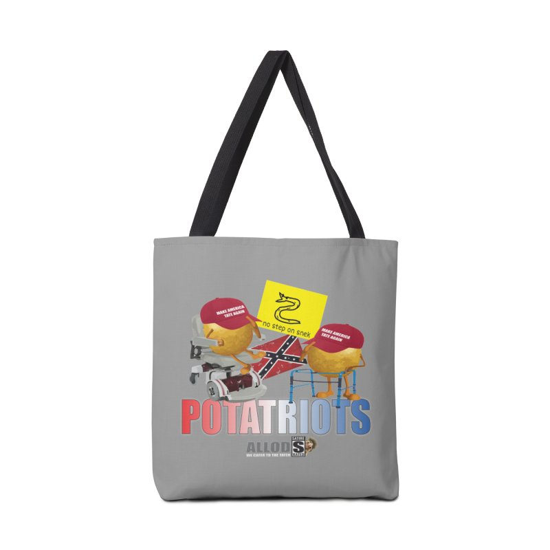 POTATRIOT SALUTE! Accessories Tote Bag Bag by America's Last Line of Defense