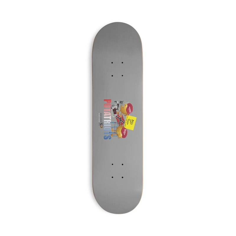POTATRIOT SALUTE! Accessories Deck Only Skateboard by America's Last Line of Defense