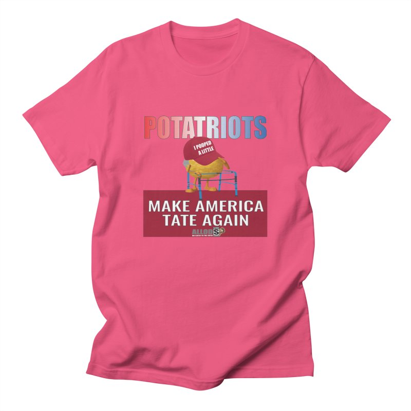 Poor Poopy Potatriot Women's Regular Unisex T-Shirt by America's Last Line of Defense