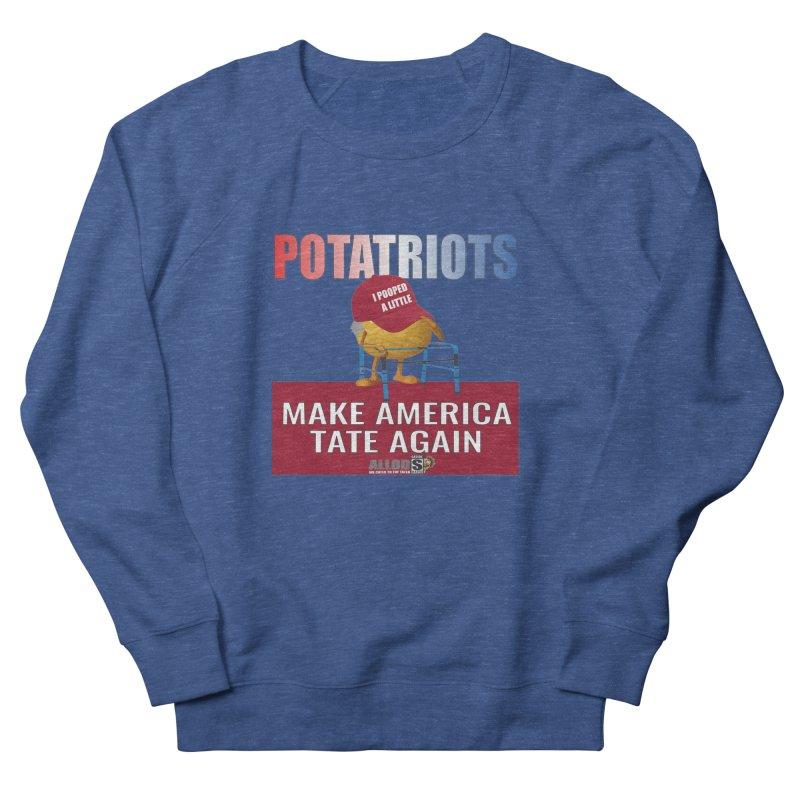 Poor Poopy Potatriot Men's Sweatshirt by America's Last Line of Defense
