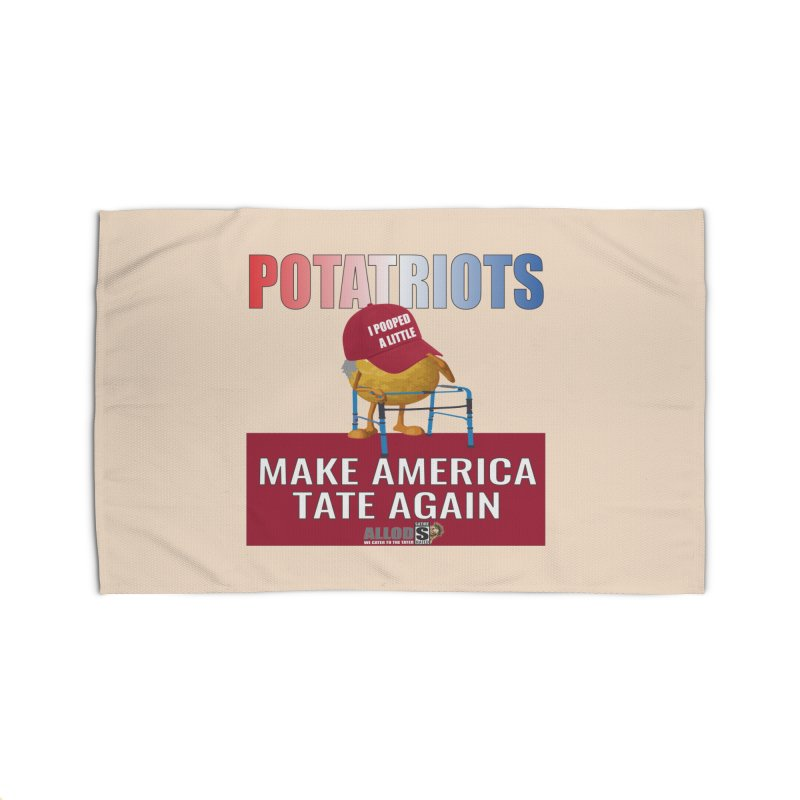 Poor Poopy Potatriot Home Rug by America's Last Line of Defense
