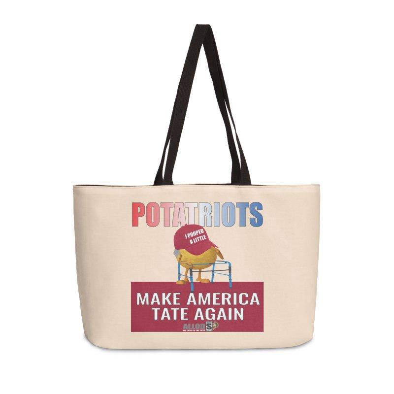 Poor Poopy Potatriot Accessories Weekender Bag Bag by America's Last Line of Defense