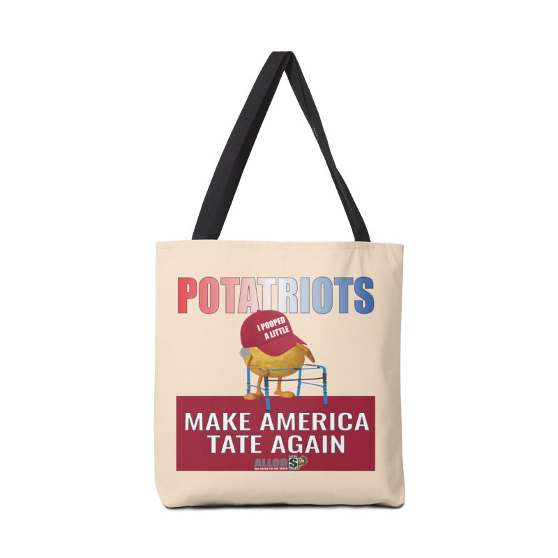 Poor Poopy Potatriot Accessories Tote Bag Bag by America's Last Line of Defense