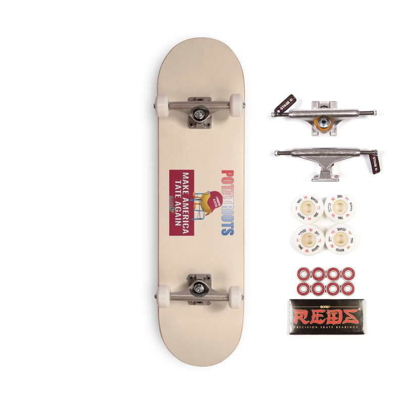 Poor Poopy Potatriot Accessories Complete - Pro Skateboard by America's Last Line of Defense