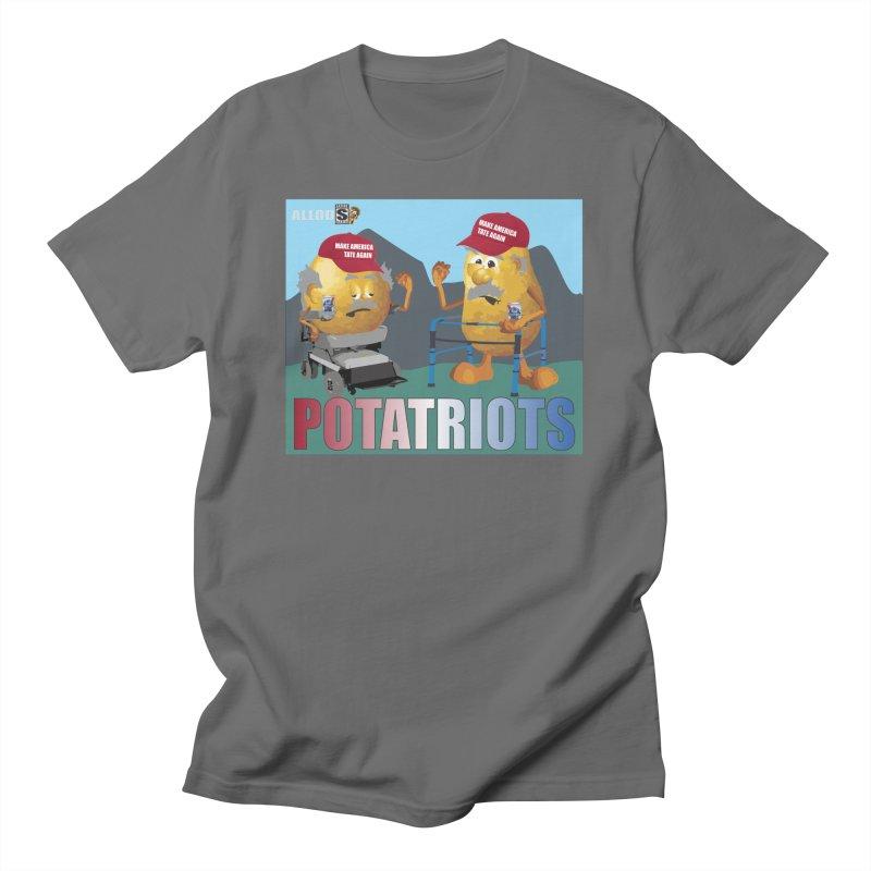 Geriatric Potatriots Men's T-Shirt by America's Last Line of Defense