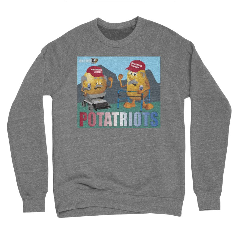 Geriatric Potatriots Men's Sponge Fleece Sweatshirt by America's Last Line of Defense