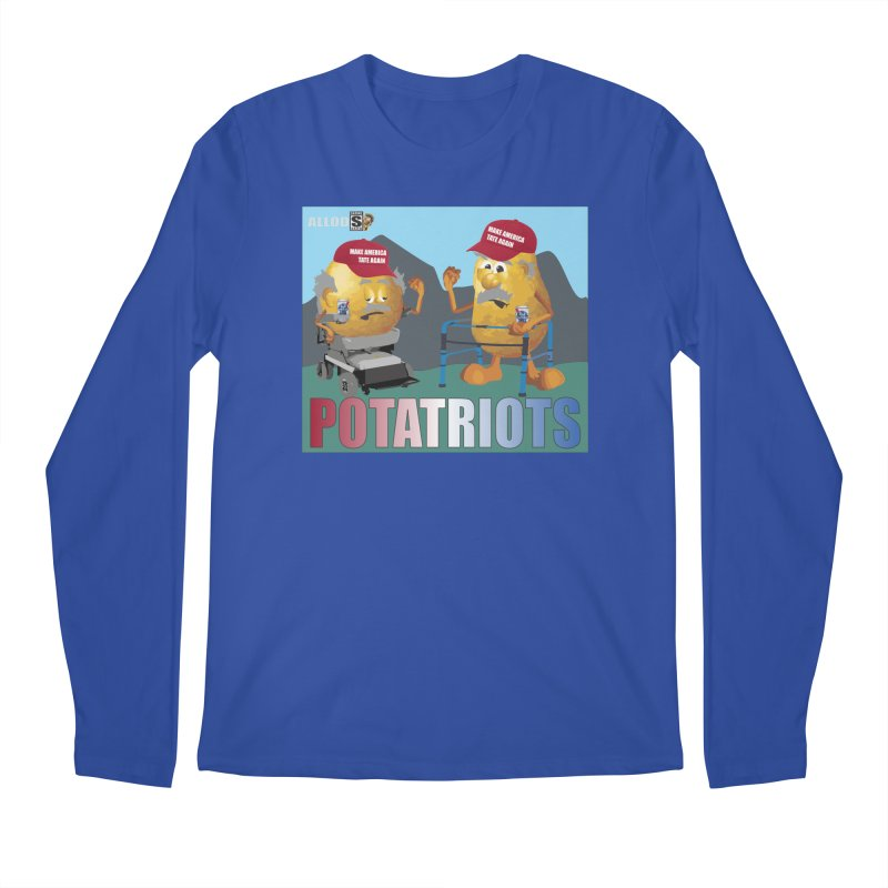Geriatric Potatriots Men's Regular Longsleeve T-Shirt by America's Last Line of Defense