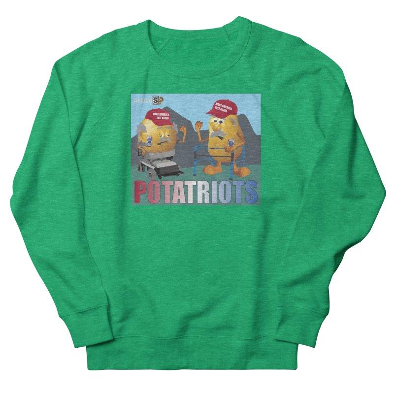 Geriatric Potatriots Women's Sweatshirt by America's Last Line of Defense