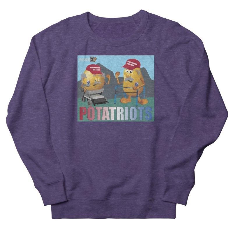 Geriatric Potatriots Women's French Terry Sweatshirt by America's Last Line of Defense