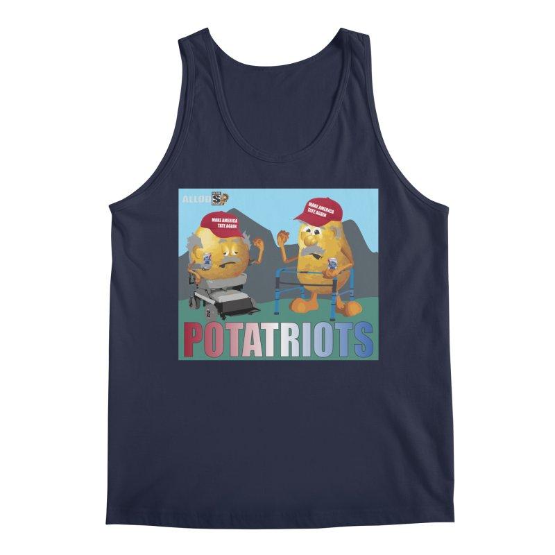 Geriatric Potatriots Men's Regular Tank by America's Last Line of Defense