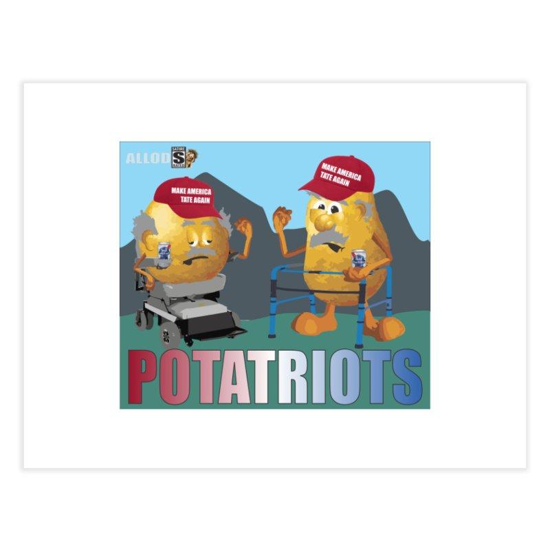 Geriatric Potatriots Home Fine Art Print by America's Last Line of Defense
