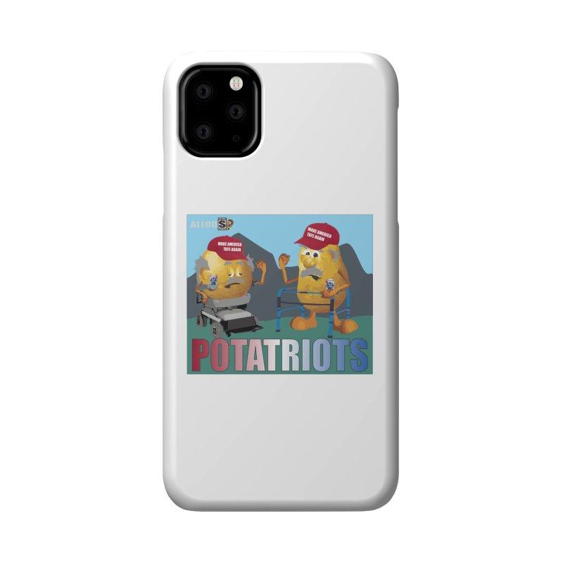 Geriatric Potatriots Accessories Phone Case by America's Last Line of Defense