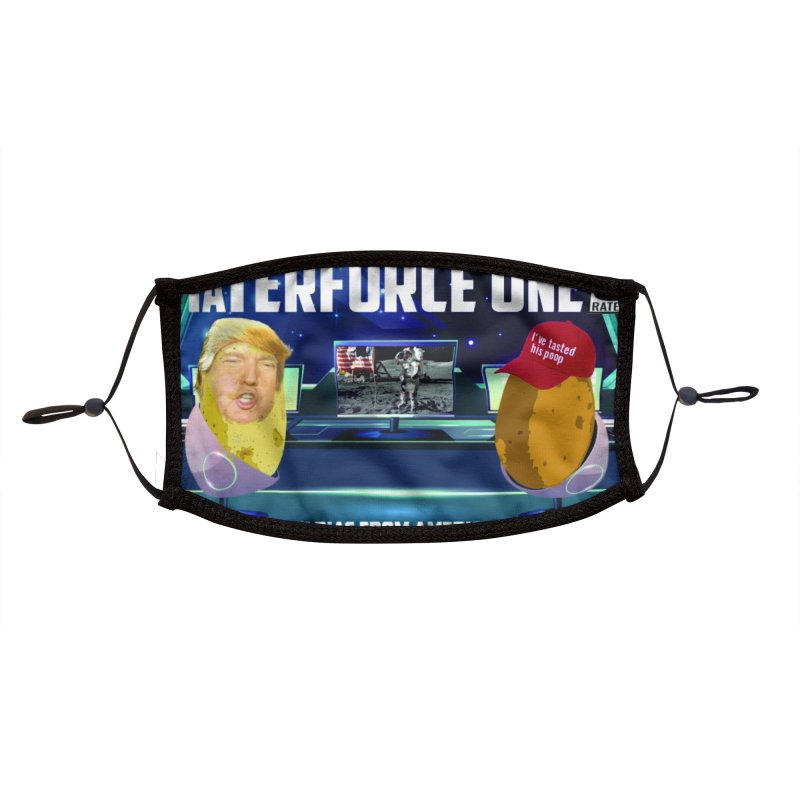 Tater Force One Accessories Face Mask by America's Last Line of Defense