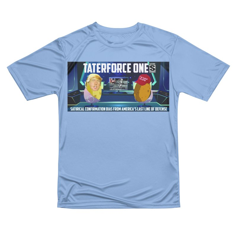 Tater Force One Men's T-Shirt by America's Last Line of Defense