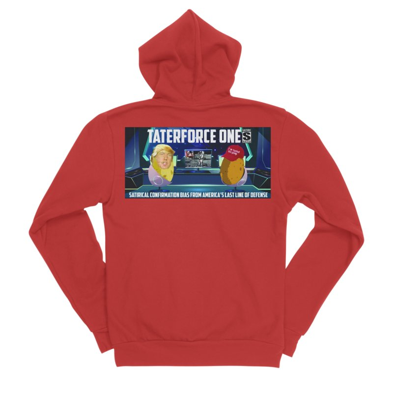 Tater Force One Men's Zip-Up Hoody by America's Last Line of Defense