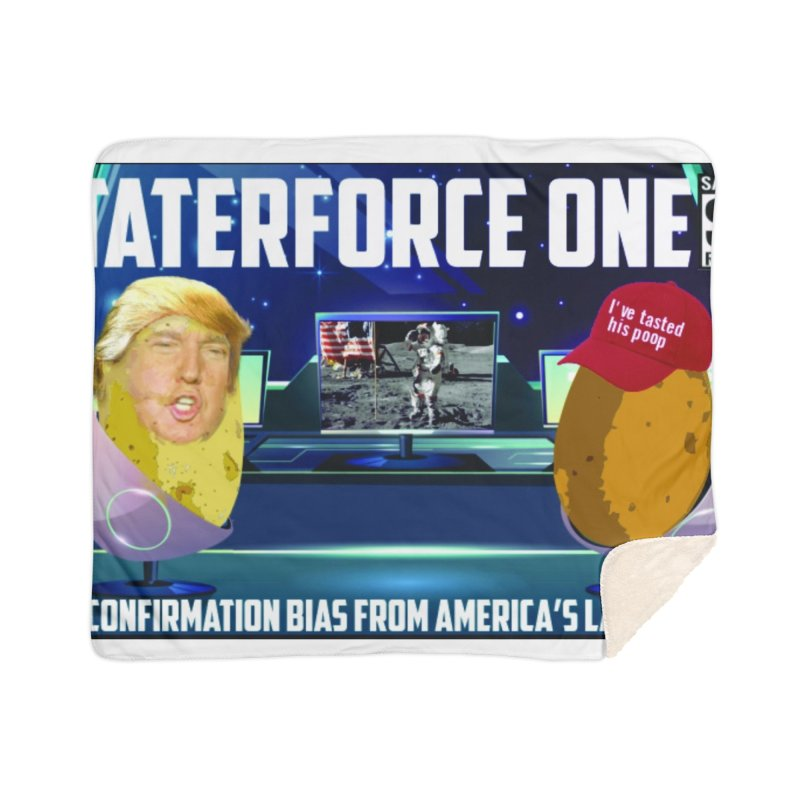Tater Force One Home Blanket by America's Last Line of Defense
