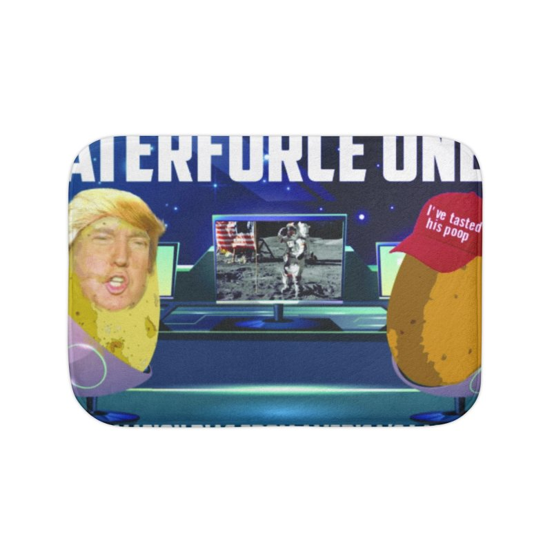 Tater Force One Home Bath Mat by America's Last Line of Defense