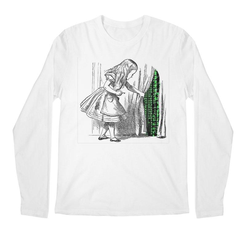 Alice Matrix Men's Longsleeve T-Shirt by ALMA VISUAL's Artist Shop