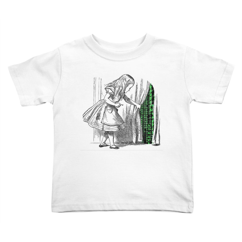 Alice Matrix Kids Toddler T-Shirt by ALMA VISUAL's Artist Shop