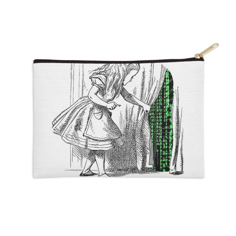 Alice Matrix Accessories Zip Pouch by ALMA VISUAL's Artist Shop
