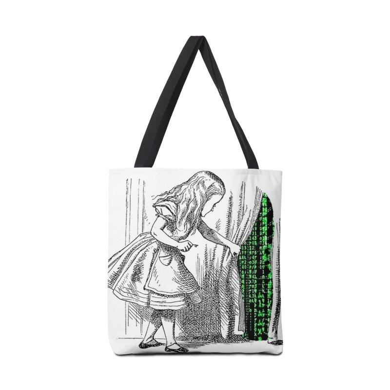 Alice Matrix Accessories Bag by ALMA VISUAL's Artist Shop