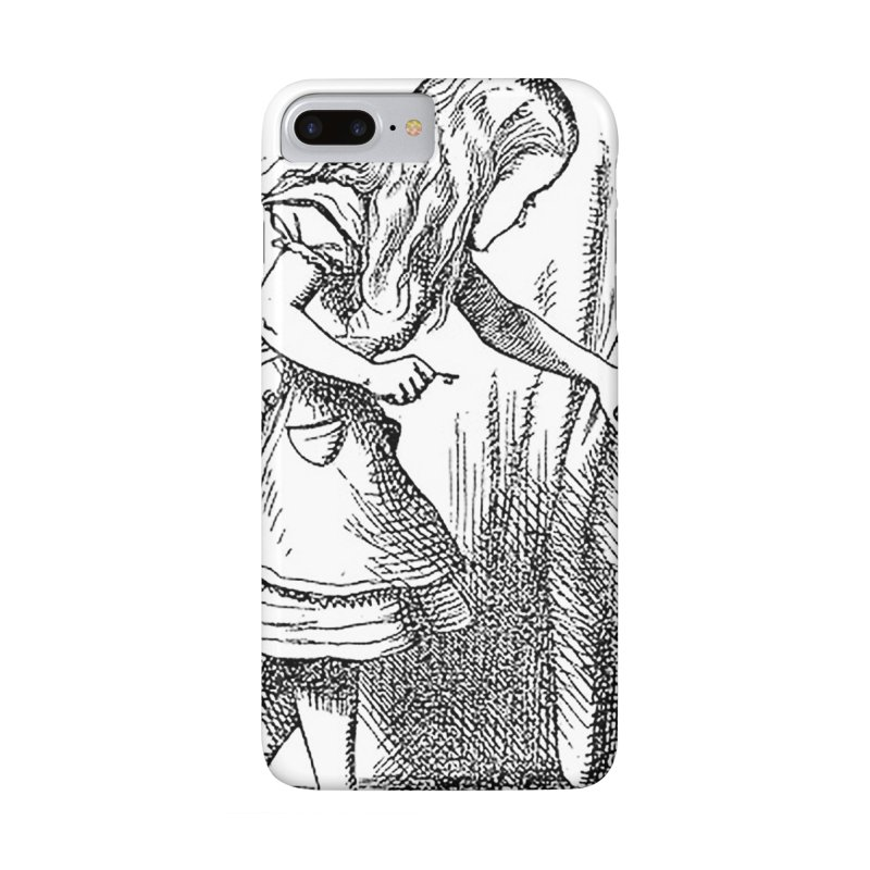 Alice Matrix Accessories Phone Case by ALMA VISUAL's Artist Shop