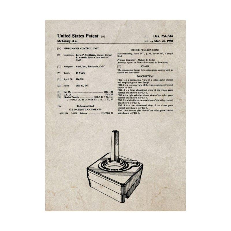 Atari Joystick patent original None  by ALMA VISUAL's Artist Shop