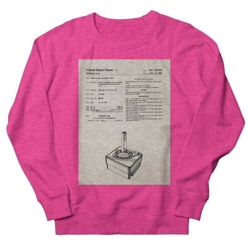 Atari Joystick patent original Men's Sweatshirt by ALMA VISUAL's Artist Shop