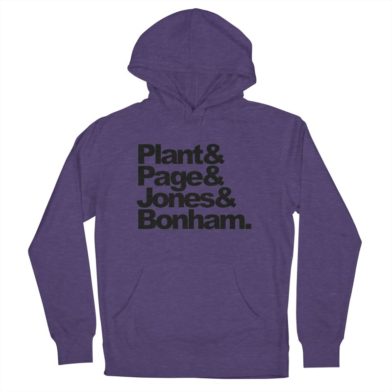 Plant and Page and Jones and Bonham Women's Pullover Hoody by ALMA VISUAL's Artist Shop