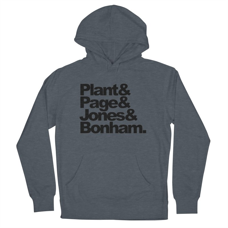 Plant and Page and Jones and Bonham Men's Pullover Hoody by ALMA VISUAL's Artist Shop