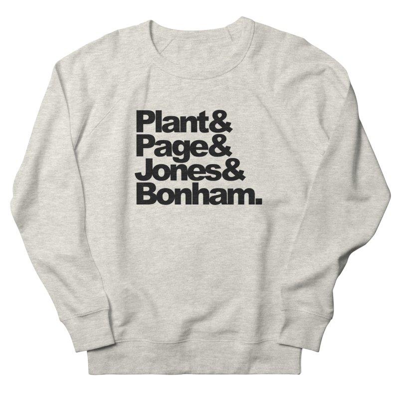 Plant and Page and Jones and Bonham Men's Sweatshirt by ALMA VISUAL's Artist Shop